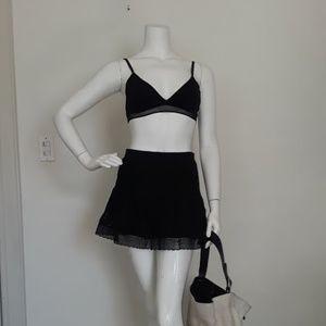 Laced Mini Skirt